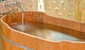 vasche da bagno legno vasche da bagno in legno
