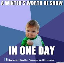 Snow Day Meme - a winter s worth of snow in one day meme on imgur