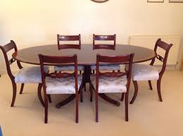 brights of nettlebed dining table and six chairs excellent