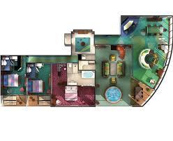 Garden Floor Plan The Haven Norwegian Cruise Line