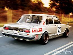 nissan skyline c10 for sale nissan datsun spin on a muscle car 1973 skyline flaw u0027d rods