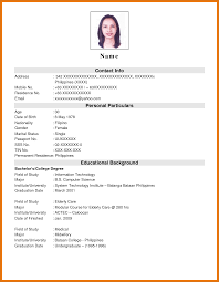 Resumes For Jobs by Resume For Science Jobs Best Free Resume Collection
