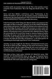Seeking Frankenstein Of The East The Legend Of Frankenstein Book