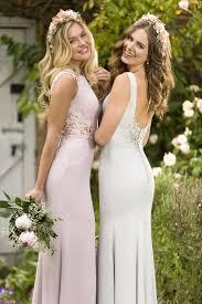 dusty wedding dress inspired dusty chiffon slim bridesmaid dress formal wedding