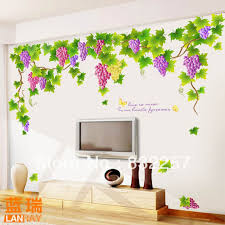 wall decor stickers online shopping grape vine wall decals wall decor stickers online shopping grape vine wall decals furnishings living room tv wall stickers designs