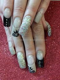 and black freehand nail art nails pinterest nechty