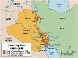 map iran iraq map of iran and iraq my