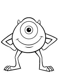 Cute Monster Coloring Pages Getcoloringpages Com Coloring Pages Monsters