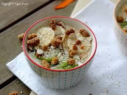 cuisiner flocon d avoine petit déjeuner aux flocons d avoine et mulberries épices moi