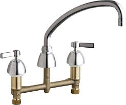 chicago faucet kitchen 201 aabcp manual faucets chicago faucets