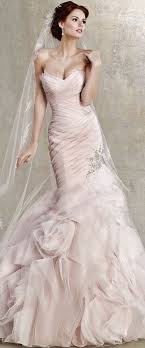 pink wedding dress 110 best pink wedding dresses images on wedding