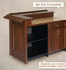 Folding Home Bar Cabinet Home Styles 5695 99 Folding Home Bar Black Furniture Fun