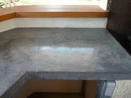 plan de travail cuisine beton faire un beton cire sur plan de travail