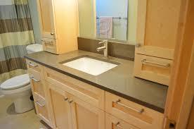 Bathroom Cabinets Built In Built In Bathroom Vanity Home Decor