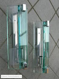 applique anni 70 coppia lada da muro vintage anni 70 applique in vetro color