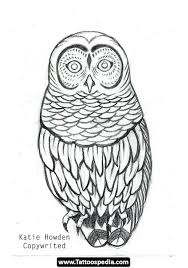 23 best simple owl outline tattoo images on pinterest cartonnage