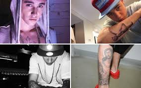 justin bieber birthday tattoo justin bieber bonds with little brother at dad s birthday party is