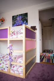 Ikea Bed Canopy by Kid Friendly Diys Featuring The Ikea Kura Bed