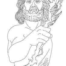 imagenes de zeus para dibujar faciles dibujos para colorear dios zeus rey de los dioses olimpicos es