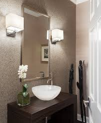 contemporary mirrors for powder room bathroom mirrors with lights