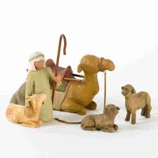 The Stable Home Decor Willow Tree Shepherd U0026 Stable Animals For The Nativity By Susan Lordi