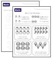 odd and even numbers worksheets all kids network