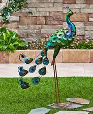 metal peacock ebay
