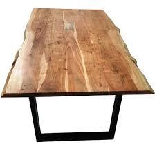 Esszimmer Akazie Weiss Tisch 180 X 90 Cm Amazon De Küche U0026 Haushalt