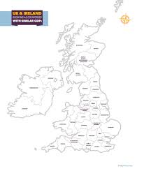 A Map Of England by Uk U0026 Ireland Gdp Map U2013 Totallymoney Com