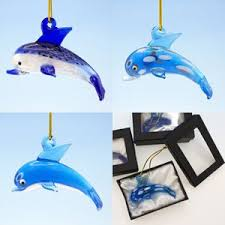 3 asst glass dolphin ornaments projects to try