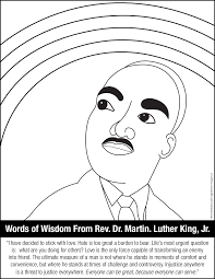 martin luther king coloring pages trendy easy preschool printable
