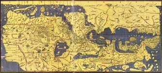 Ancient World Map by The Tabula Rogeriana Drawn By Al Idrisi For Roger Ii Of Sicily In