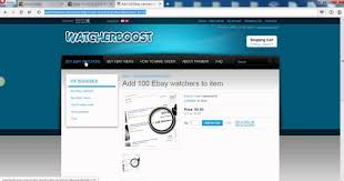 ebay how to increase watchers and views by using this trick