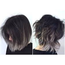 blonde bobbed hair with dark underneath 35 balayage styles and color ideas for short hair part 13