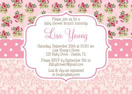 baby shower invites for girl invitation girl mayotte occasions co