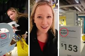 ikea puns boyfriend passes the time at ikea by annoying girlfriend with