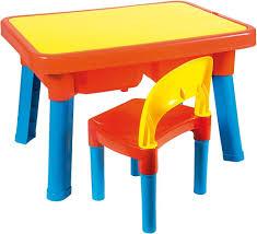 tavolo sedia bimbi androni giocattoli 8901 0000 tavolo multigioco con sedia no