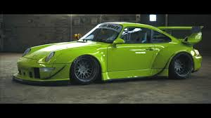 rauh welt porsche purple porsche 993 gets rwb treatment and a short film made on it
