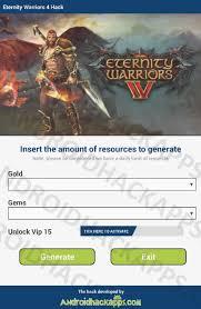 eternity warrior apk eternity warriors 4 hack hack tool eternity warriors 4