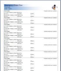 phone tree template printable phone tree template 15 free word