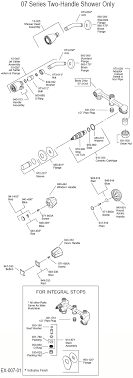 price pfister kitchen faucet parts diagram plumbingwarehouse com price pfister bathroom faucet parts for