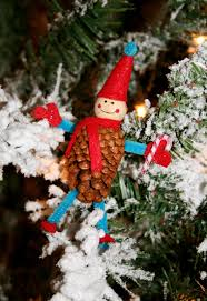 nesting in the bluegrass pine cone elves