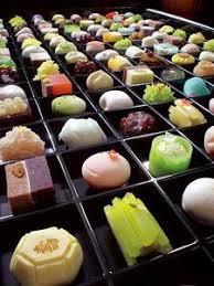 cuisine traditionnelle japonaise les wagashi 和菓子 les pâtisseries traditionnelles japonaises