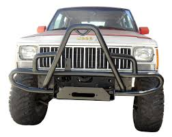 olympic 4x4 products cherokee xj jeep cherokee winch bumper