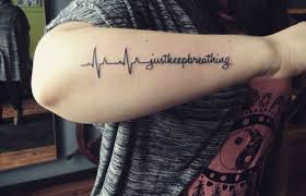 best heartbeat quote made on forearm segerios com
