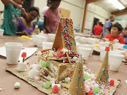 Gingerbread House Decoration Legend Of Papa Noel Gingerbread House Decorating Baton Rouge
