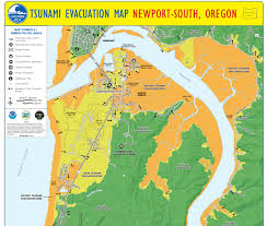map of oregon evacuation everything earthquake and tsunami in the month of may in lincoln