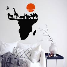 World Map Decal by Compare Prices On Africa Wall Decal Online Shopping Buy Low Price