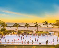 fashion island thanksgiving hours skating by the sea beachfront iceskating rink hotel del