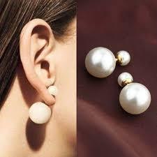 two sided earrings aliexpress buy stud earrings for women